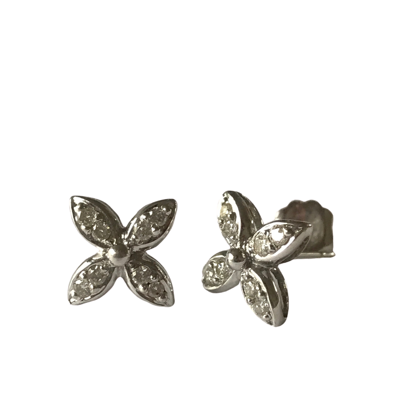 Antique, Estate & Consignment Diamond Star Earrings