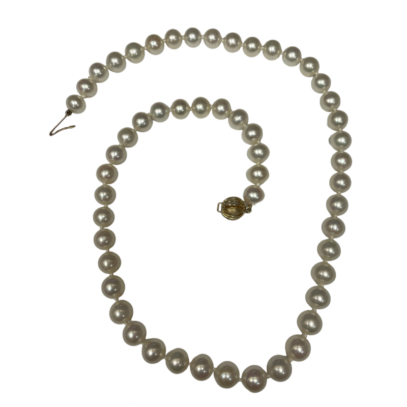 Antique, Estate & Consignment Single Strand of Freshwater Pearls