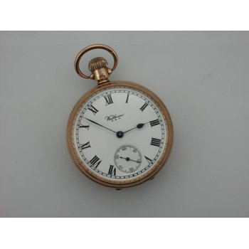 10k Waltham Pocket Watch