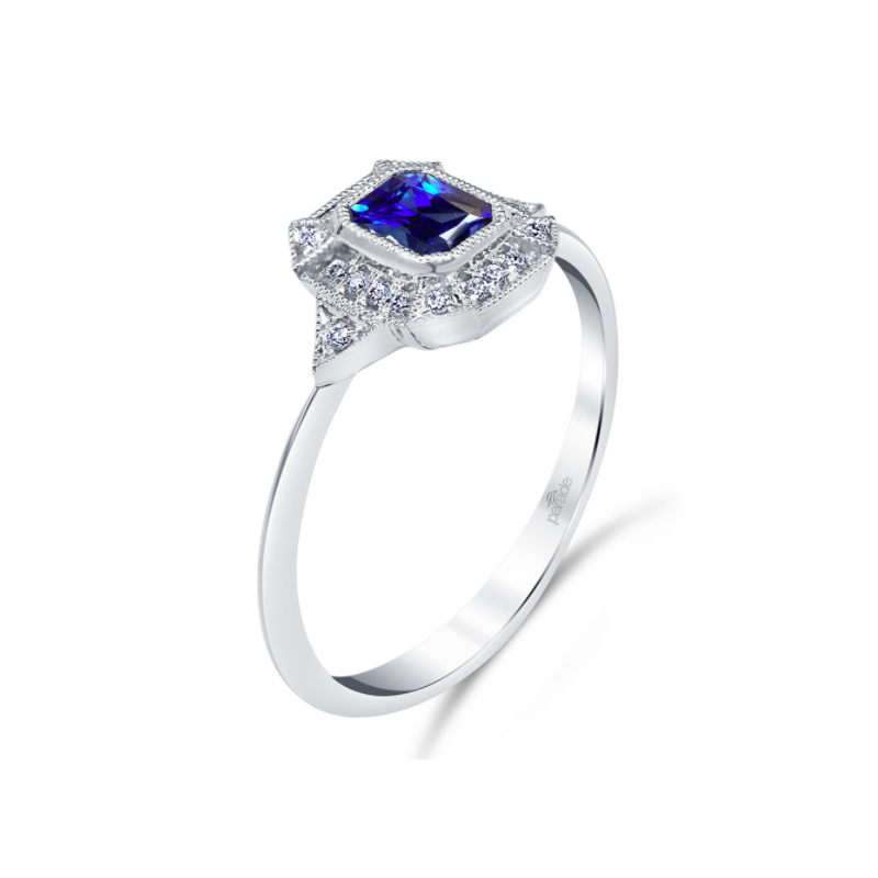 Parade Design Vintage Inspired Sapphire Ring R4353