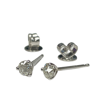 0.29 Carat Old European Cut Diamond Studs