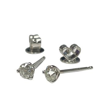 0.29 Carat Old European Cut Diamond Studs