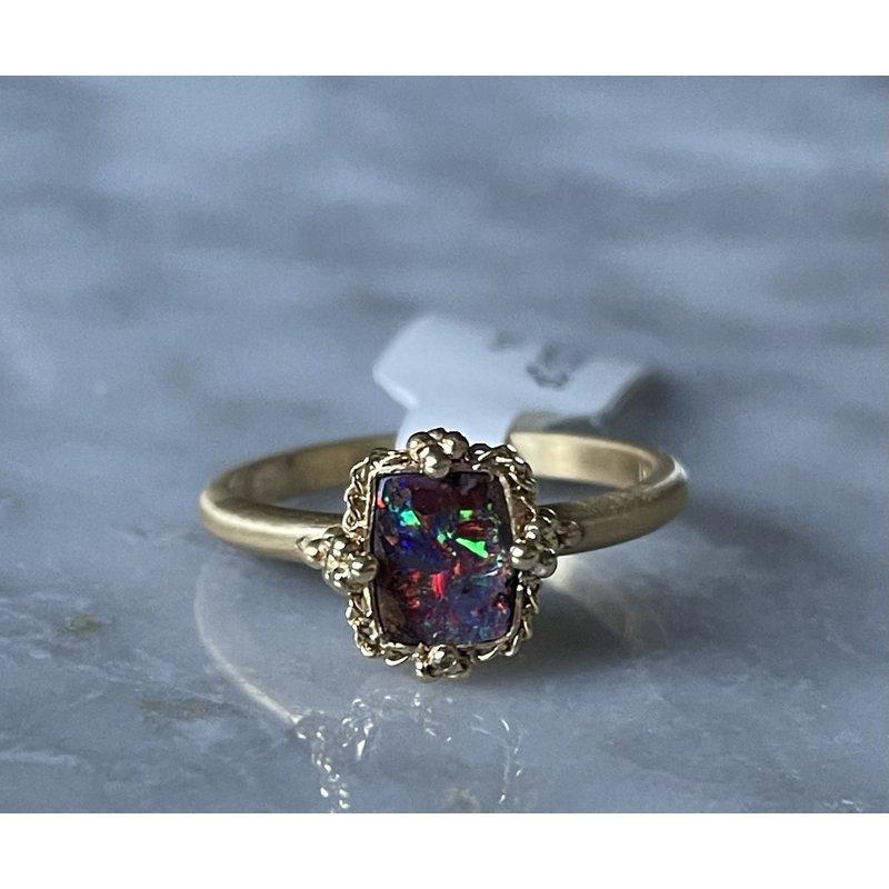 Amali One of a Kind Boulder Opal Ring