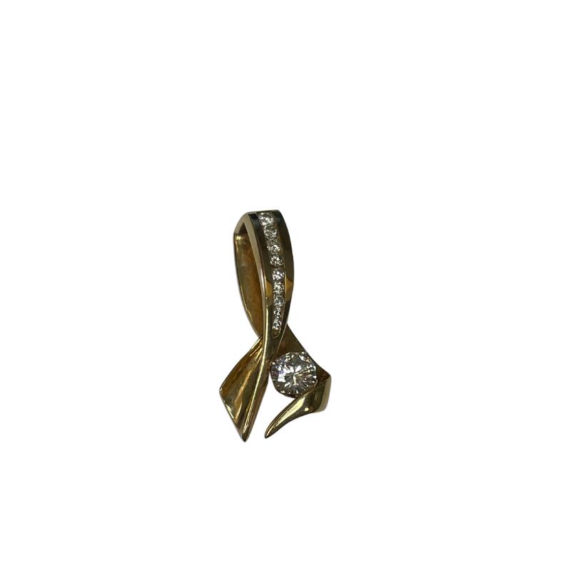 Antique, Estate & Consignment Diamond Sweep Pendant