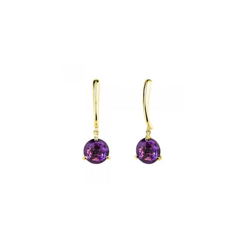 Stanton Color Amethyst Dangle Earrings