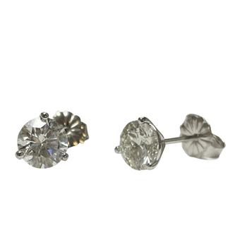 1.50 Carat TWT Diamond Studs