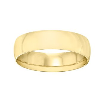 18k Yellow Gold 5mm Band