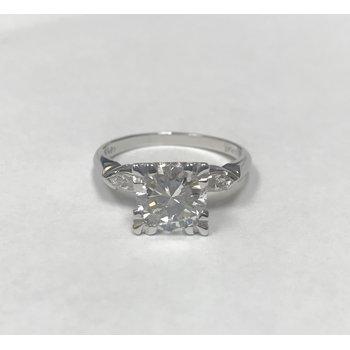 1.55 Carat Diamond Engagement Ring