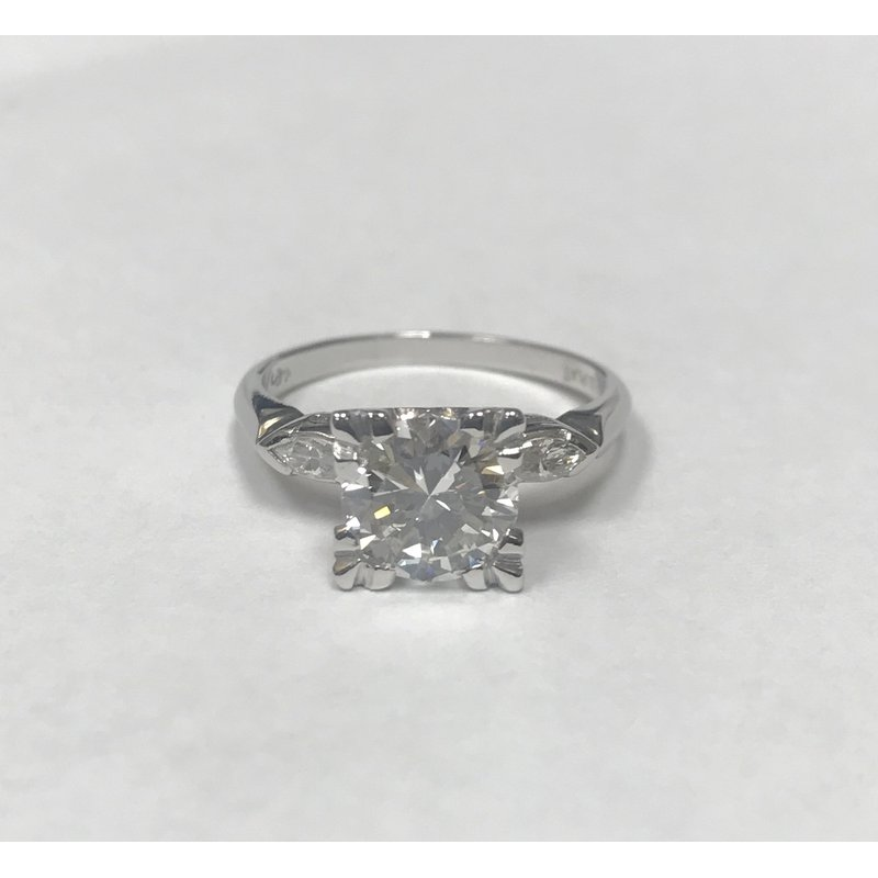 Antique, Estate & Consignment 1.55 Carat Diamond Engagement Ring