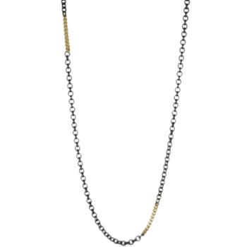 Gold Station Necklace