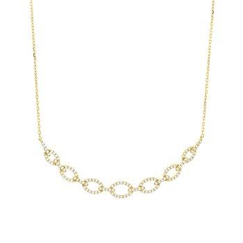 Diamond Link Necklace