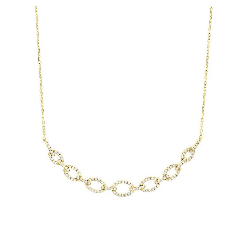 Facet Barcelona Diamond Link Necklace