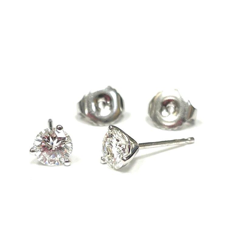Hurdle's Jewelry Collection 0.77 Carat Diamond Stud Earrings