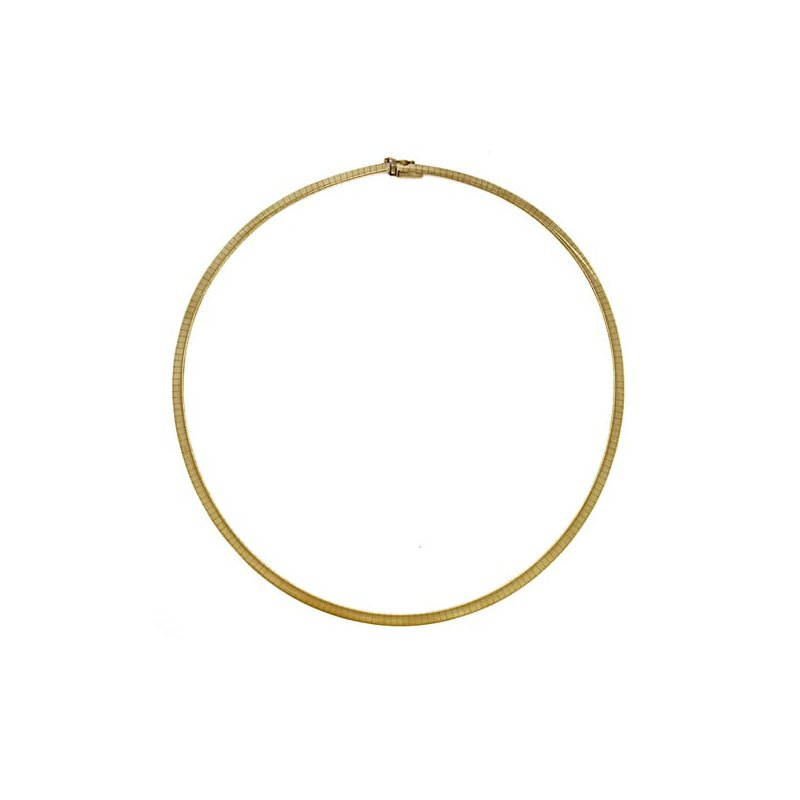Hurdle's Jewelry Collection 14k Gold 4mm Omega Chain