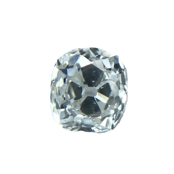 0.57 Carat Old Mine Cut Diamond H / SI1