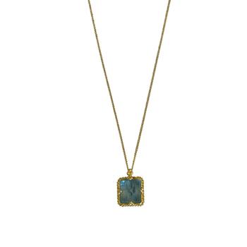 Mini Aquamarine Necklace