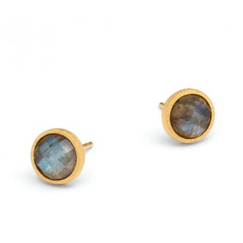 Rubini Labradorite Stud Earrings