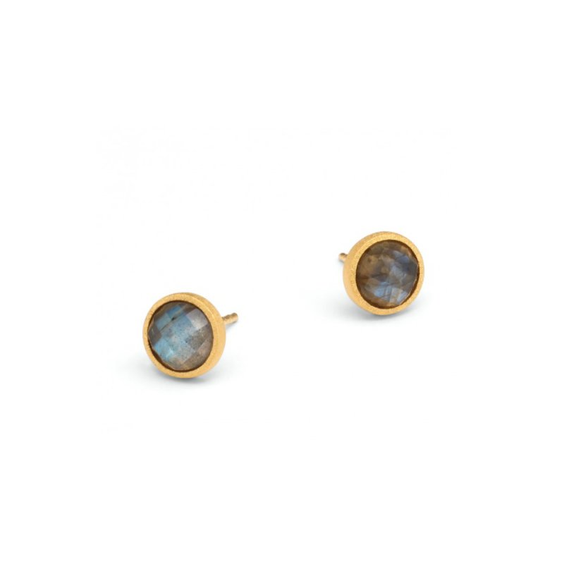 Bernd Wolf Rubini Labradorite Stud Earrings