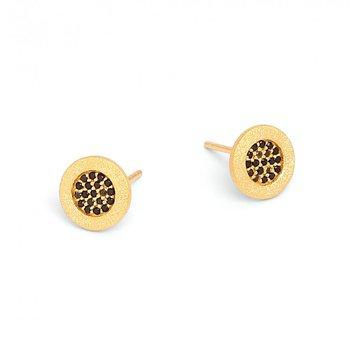 Padmi Spinel Stud Earrings