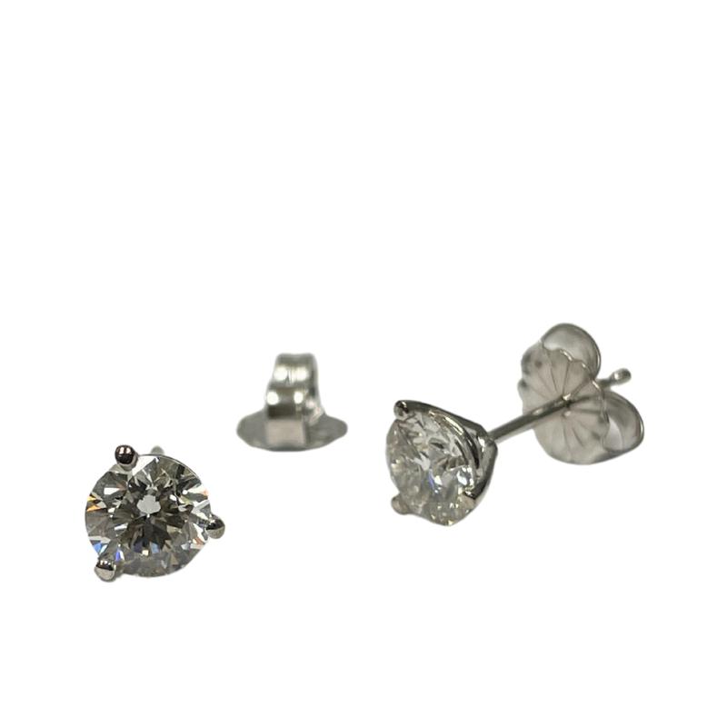 Hurdle's Jewelry Collection 1.00 Carat TWT Diamond Studs