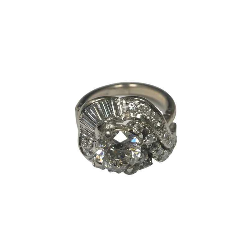 Antique, Estate & Consignment White Gold Diamond Engagement Ring