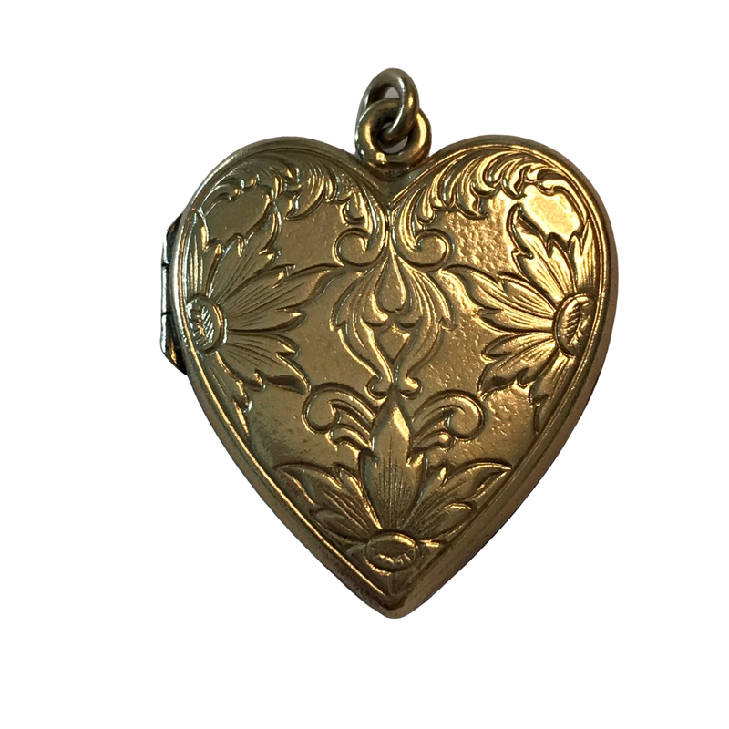 Antique, Estate & Consignment Gold Heart Locket