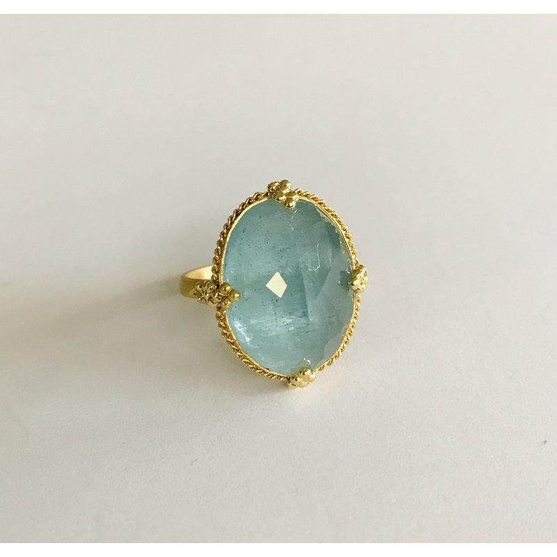 Amali One of a Kind Aquamarine Ring