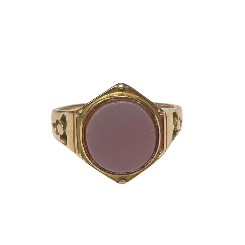 Antique, Estate & Consignment 15k Sardonyx Ring