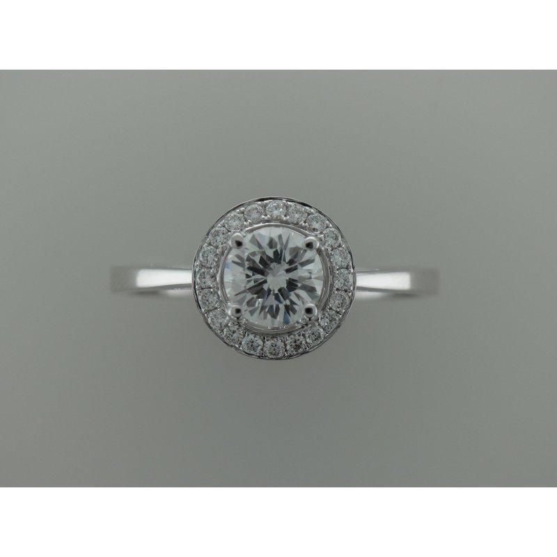 Parade Design Halo Engagement Ring R2622