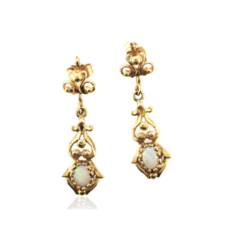 Antique, Estate & Consignment Opal Dangle Earrings
