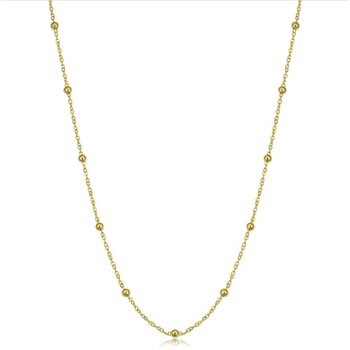 Beaded Cable Adjustable Chain