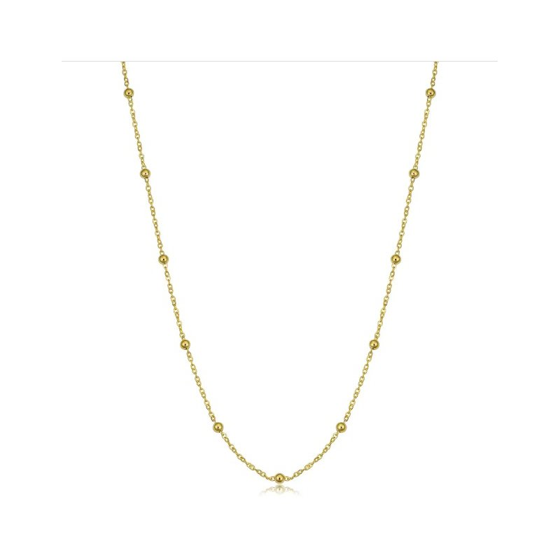 Adrienne Designs Beaded Cable Adjustable Chain