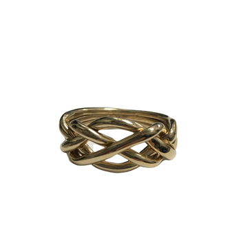 14k Puzzle Ring