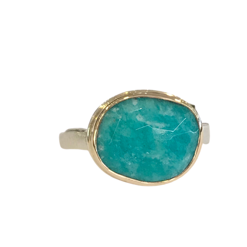Jamie Joseph Amazonite Ring