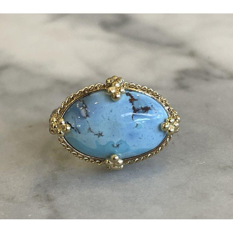 Amali Lavender Turquoise Ring