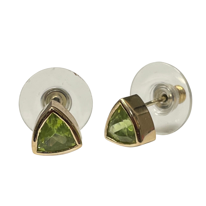 Antique, Estate & Consignment Peridot Stud Earrings