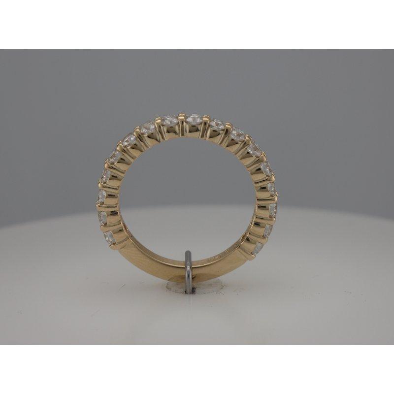 Hurdle's Custom Designs Diamond Wedding Band 3/4 Around