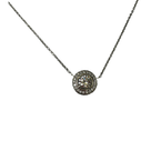 Hurdle's Jewelry Collection Diamond Halo Necklace
