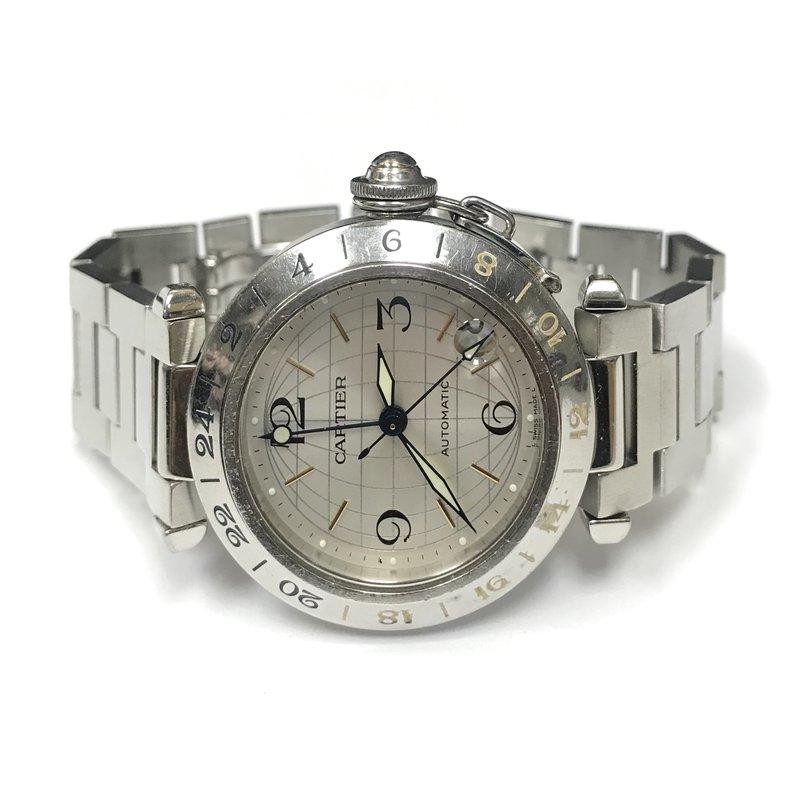 Antique, Estate & Consignment Cartier Pasha GMT Watch