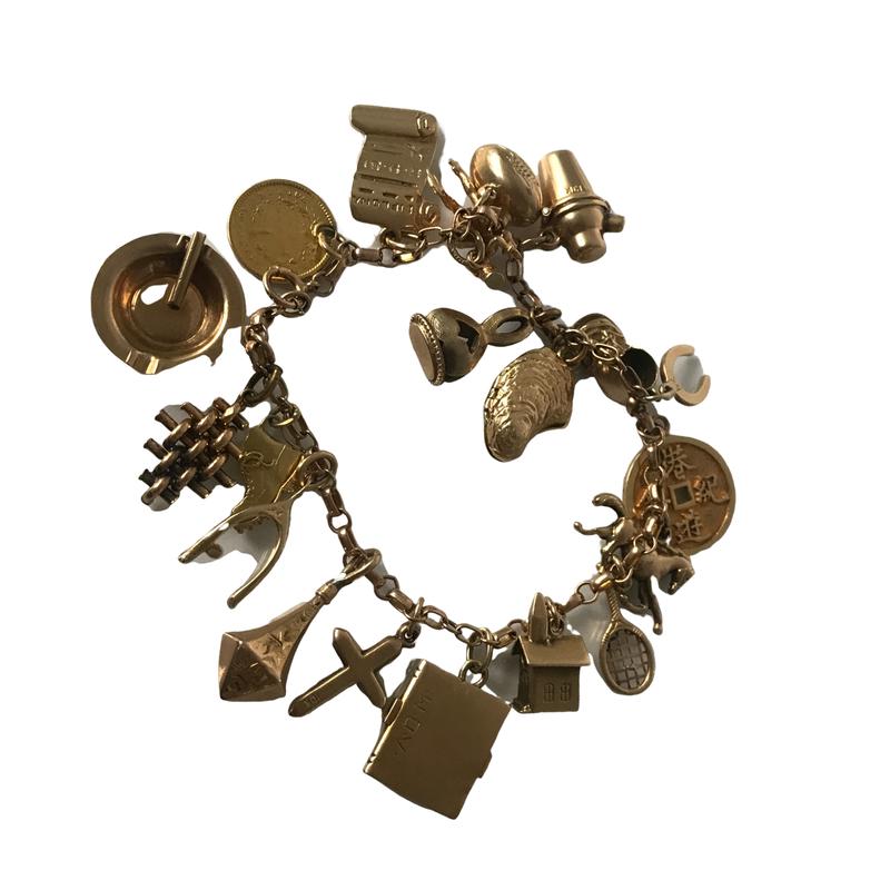 Antique, Estate & Consignment Charm Bracelet