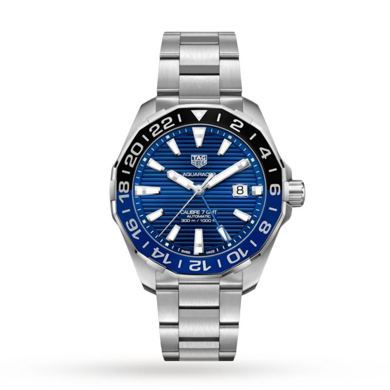 TAG Heuer Aquaracer Calibre 7 GMT - Blue/Black