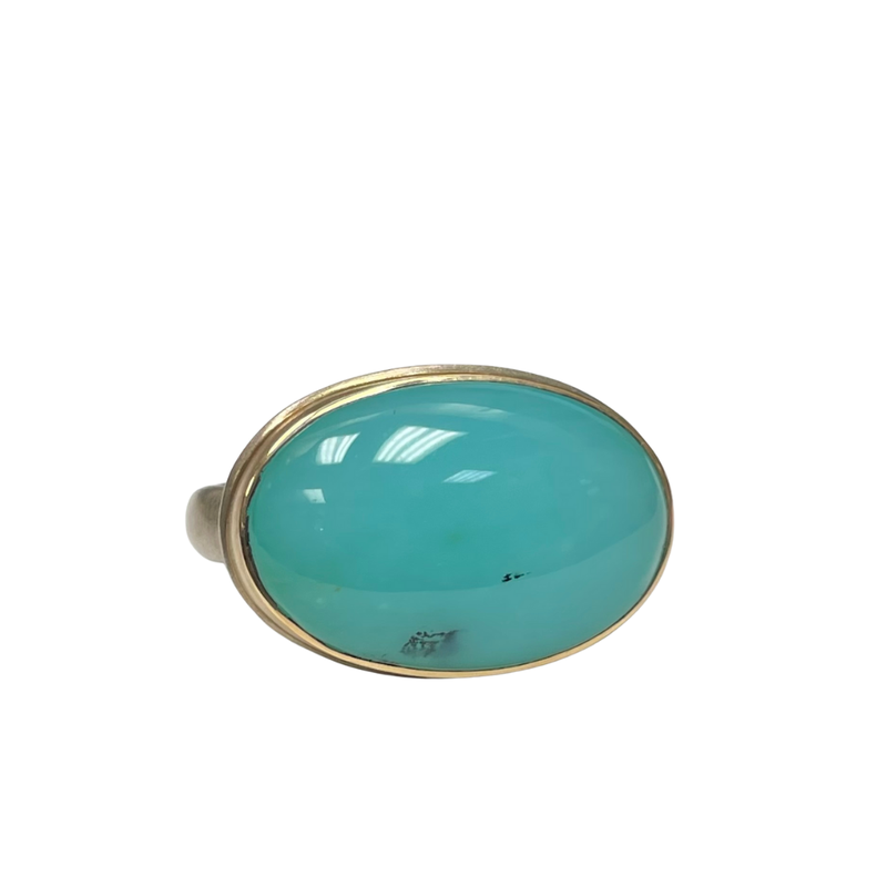 Jamie Joseph Peruvian Opal Ring