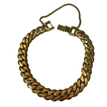 18k Gold Curb Link Bracelet