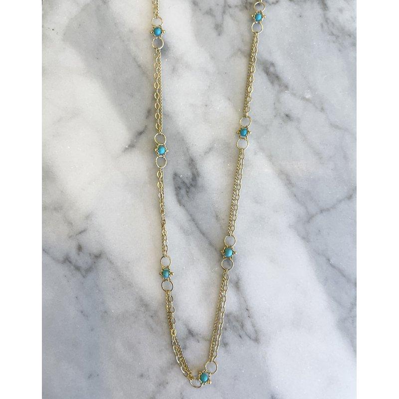 Amali Turquoise Whisper Chain