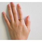 Jennie Kwon Bar Prong Baguette Equilibrium Ring