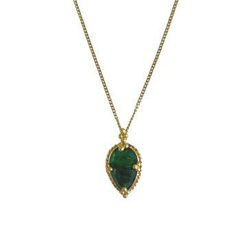 Mini Emerald Necklace