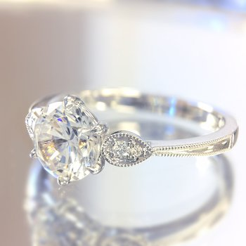 Classic Bridal Diamond Engagement Ring R4315