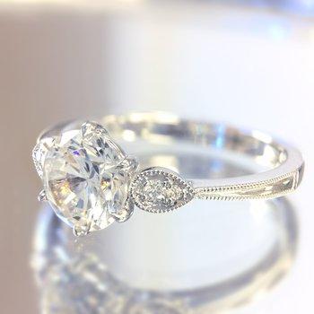 Classic Bridal Diamond Engagement Ring R4315