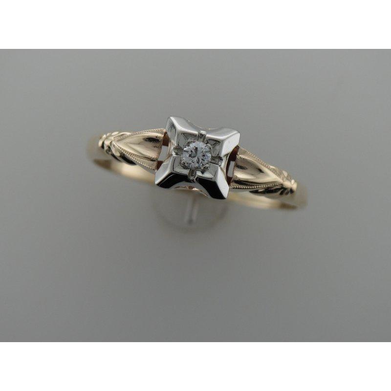Antique, Estate & Consignment Illusion Set Diamond Ring