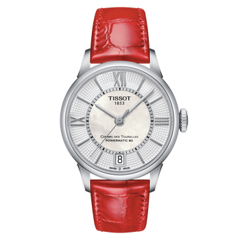 Chemin Des Tourelles Powermatic 80 Lady Red Strap